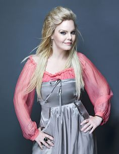 Anette Olzon, formerly of Nightwish, blonde
