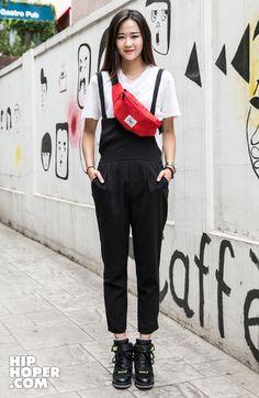 윤혜인 > Street Fashion   힙합퍼