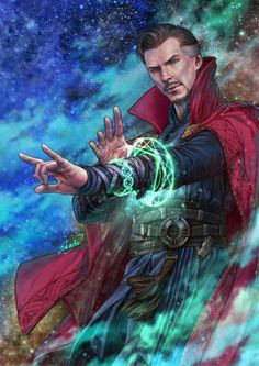 Take that, Dormammu! I just love Doctor Strange! Heros Comics, Marvel Dc Comics, Marvel Heroes, Marvel Doctor Strange, Doc Strange, Doctor Stranger Marvel, Strange Art, Marvel Characters, Marvel Movies