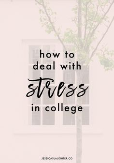 How To Deal With Stress In College | #inSpire #CG #ad @spireio