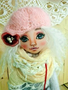 art doll by Liliya Skolova