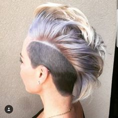 "2,547 Likes, 17 Comments - Short Hair  💇 Pixie Cut Boston (@nothingbutpixies) on Instagram: ""Great cut on @tiffanyleegaston 😀😀 by stylist @tydyeshair If love respond with favorite colored…"""