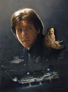 Han Solo - Smuggler's Hideaway - Canvas Giclee print - Star Wars VanderStelt Studio http://www.amazon.com/dp/B00OVDHRTO/ref=cm_sw_r_pi_dp_BFszub0111RFP