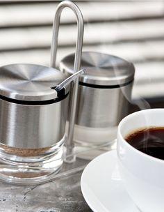 Mmh... Kaffeegenuss am Morgen. #emsagmbh #emsa #accenta #zucker #kaffee #menage #silber #frühstück #coffee