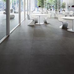Floor tiles | Refin Wide | Jacobsen NZ: brushed stainless look