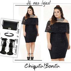 """61 curtidas, 4 comentários - Chiquita Bonita (@chiquitabonitacriciuma) no Instagram: """"Aqui na #chiquitabonita você compõe todo o seu look para aquele evento e  arrasa na produção! Que…"""""""