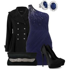 A fashion look from December 2012 featuring Lipsy dresses, Giuseppe Zanotti pumps and Sasha clutches. Browse and shop related looks.