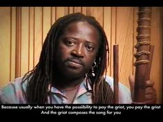 UPRISING ~ Modern day griot explains ancient storytelling tradition - YouTube