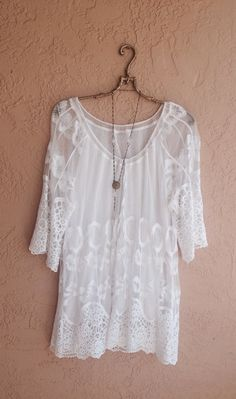 Summer beach bohemian tunic