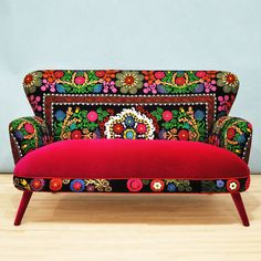 Patchwork Suzani Sofa design inspiration on Fab.