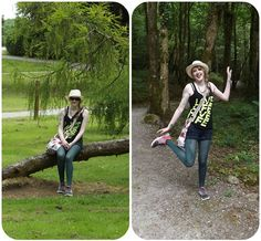 If you go down to the woods today. Anna Smith, Grey Trainers, Skulls And Roses, Primark, Walks, Woodland, Shoulder Bag, My Style, Blog
