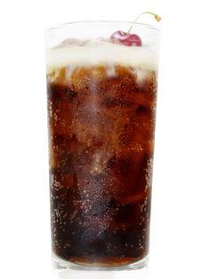 Cherry Cream Soda (chocolate cherry liqueur, irish cream, diet cola)