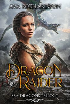& of Dragon Raider par Ava Richardson ! Fantasy Books To Read, Fantasy Book Covers, Best Book Covers, Ya Books, Good Books, Book Series, Book 1, Kindle Unlimited, Paranormal Romance Books