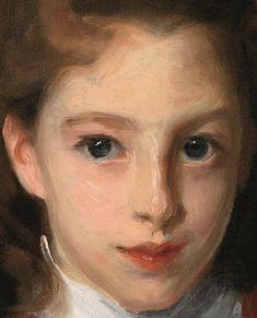 Oil Portrait, Portrait Images, Pencil Portrait, Portrait Paintings, Figure Painting, Painting & Drawing, Sargent Art, Wow Art, Traditional Paintings