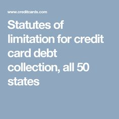 Helping small business owners credit cards for bad credit http statutes of limitation for credit card debt collection all 50 states colourmoves