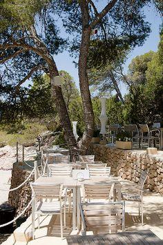 el chiringuito at cala gracioneta secluded ibiza beach restaurant - Beach Style Restaurant 2016