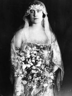 the Lady Elizabeth Bowles-Lyon 1922, who became Duchess of York, then Queen after abidcation of Edward VIII