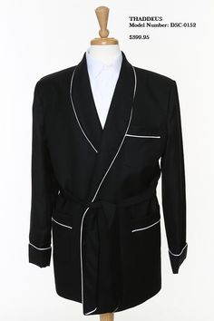 The most unique thing about mens smoking jackets is its high cost price. The high cost price is because of the use of highly priced materials being used to design the special wear. Though its popularity has declined over time, but has still been found to be used by men of elite class especially on the occasion of special events.