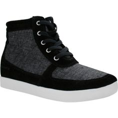 536d03bad1a Women s Skechers OG 80 Swag High Top Wedge Sneaker - Black Casual ( 50) ❤  liked on Polyvore featuring shoes