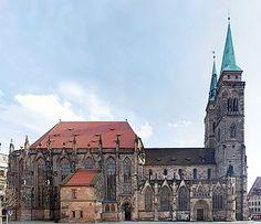 St Sebaldus church, Nurnberg Germany