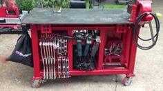 Custom welding table