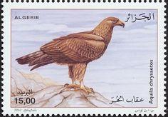 мар50Birds on stamps: Algeria Algerije Algérie