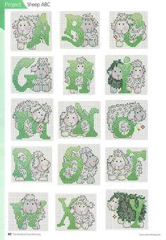 Alfabeto de Ovelha 2