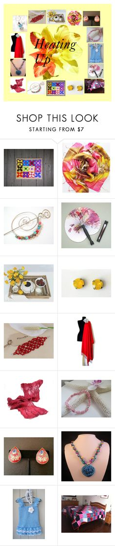"""Heating Up: Handmade Summer Gifts"" by paulinemcewen ❤ liked on Polyvore featuring interior, interiors, interior design, home, home decor, interior decorating, rustic and vintage"
