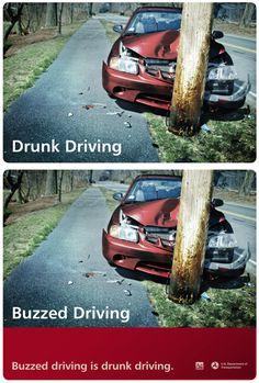 "People who drink think that when they are buzzed they are still ""okay"" to do many things. One of those many things is them thinking they can still drive."