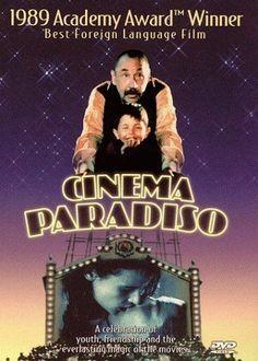 Cinema Paradiso (1988) I am so deeply in love with this film ! ooh I need to see this! Descubra 25 Filmes que Mudaram a História do Cinema no E-Book Gratuito em http://mundodecinema.com/melhores-filmes-cinema/