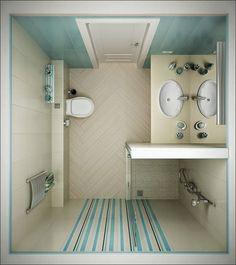 Ακόμη και το μικρότερο μπάνιο μπορεί να γίνει άνετο και λειτουργικό αρκεί να κάνετε σωστά το σχεδιασμό του. Παρακάτω υπάρχουν έξυπνες ιδέες και λύσεις για να μετατρέψετε το μπάνιο κάνοντάς το ιδανικό. Άλλωστε όπως λένε, για κάθε πρόβλημα υπάρχει και λύση.