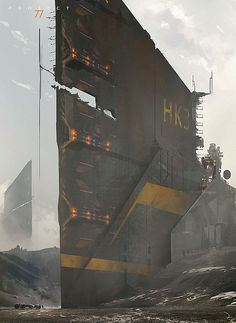 Hot Concept Art by Martin Deschambault