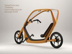 """ThisWay bicycle design. The new bicycle design by Torkel Dohmers won the 'commuter bike for masses' design competition. The bicycle named """"ThisWay"""" has been designed keeping in mind the safety and security of the rider from all sorts of situation."""
