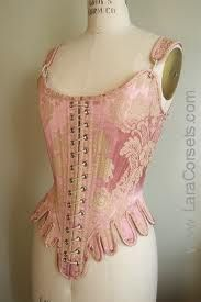 Someday I want to make a corset just for me. Lovely by Lara Corsets. Lingerie Vintage, Corset Vintage, Vintage Dresses, Vintage Outfits, Vintage Fashion, Gothic Fashion, Pink Corset, Black Corset, Bodice
