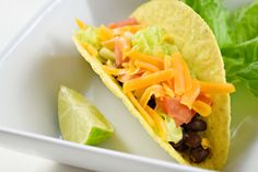 Black Bean Tacos Easy Indian Recipes, Ethnic Recipes, Black Bean Tacos, Indian Cookbook, Butter Chicken, Weeknight Meals, Black Beans, Chicken Recipes, Dishes
