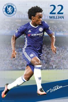 Chelsea Willian 16/17 Maxi Poster