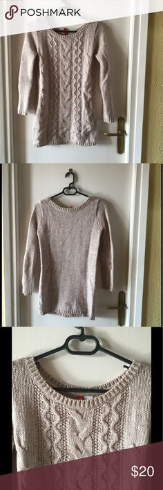 📢📢⬇️‼️SUPER SALE‼️⬇️📢📢 Sweater Beige long wool sweater super warm and confortable :) H&M Sweaters