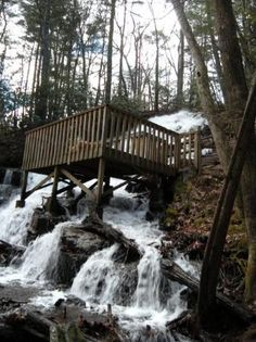 Other than TLC, who doesn't love chasing waterfalls? This beauty can be seen from a walking trail at Vogel State Park. Vacation Places, Vacation Spots, Vacations, The Places Youll Go, Oh The Places You'll Go, Georgia State Parks, Espanto, Beautiful Waterfalls, Get Outdoors