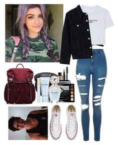 """""""@fivesecondsofphan """" by jasloves5sos ❤ liked on Polyvore featuring Victoria's Secret, WithChic, Topshop, Morphe, M Z Wallace, NARS Cosmetics, Christian Dior, Marc Jacobs and Converse"""
