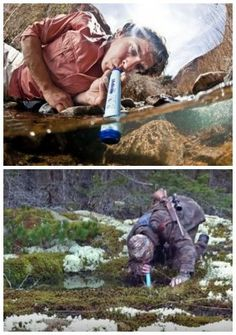 This could be a life saver in an emergency. Would be great for a camper, hunter, hiker, someone going overseas, or just to have in your emergency preparedness. lifestraw emergency kit must have