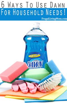 Find out how many ways you can use Dawn to clean your home.. It's cool!