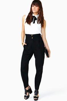 Karl Lagerfeld Trousers #nastygalvintage