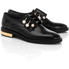 Sally derby shoes - Black Coliac di Martina Grasselli piBzn05Q4j