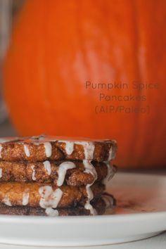 Pumpkin Spice Pancakes (AIP/Paleo)