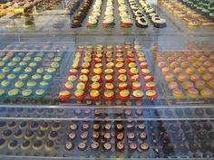 Baked by Melissa - mini cupcakes (about the size of a Quarter). Will visit the SoHo location.