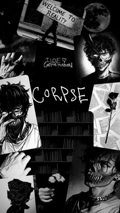 Corpse husband wallpaper black and white aesthetic Pop Art Wallpaper, Wallpaper Iphone Cute, Cartoon Wallpaper, Black Aesthetic Wallpaper, Aesthetic Wallpapers, Animes Wallpapers, Cute Wallpapers, Imagenes Dark, Welcome To Reality