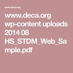 www.deca.org wp-content uploads 2014 08 HS_STDM_Web_Sample.pdf