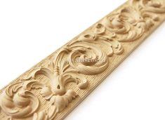 Декоративный молдинг из древесной пасты (пульпы), артикул KPS-012. Decorative moulding with wooden paste. #декор #дизайн #карниз #молдинг #decor #design