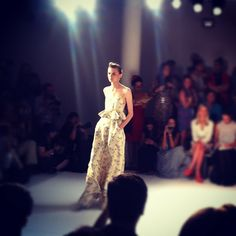 Loving peplums at CFDA Fashion Fund Finalists Suno. ( #NYFW #Throwback #Nordstrom )