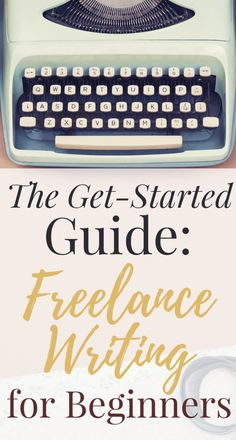 Have you dreamt about writing for a living by becoming a freelance writer? Getting started is the hardest part -- this guide will help you launch a freelance writing career even if you have absolutely no experience. Read this report and get started today. Make Money Writing, Writing Advice, Writing Resources, Writing Prompts, How To Make Money, Writing Ideas, Dialogue Writing, Writing Guide, Persuasive Essays